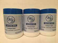 Load image into Gallery viewer, WD Sanitizing Wipes 60 ct - (3, 6 or 12 pcs)