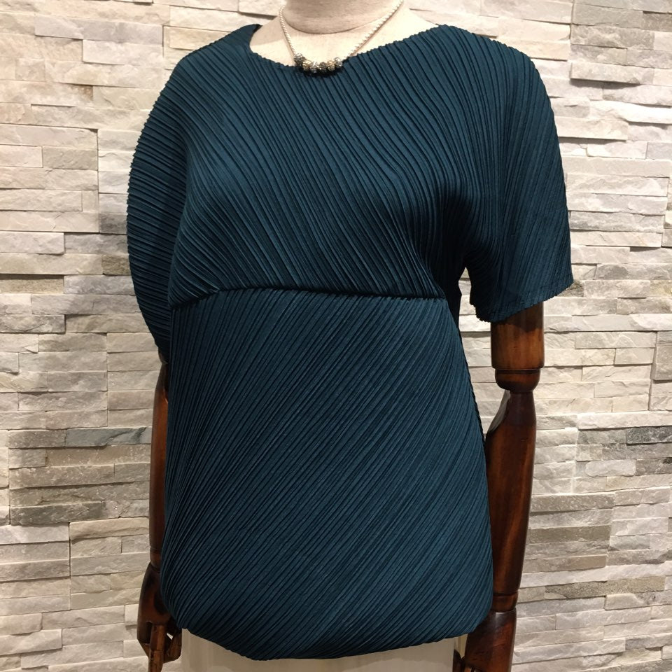 Teal Many Top