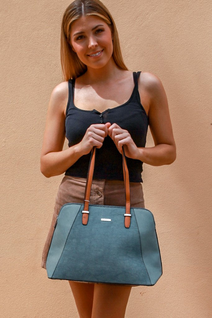 Light Blue Hand Bag