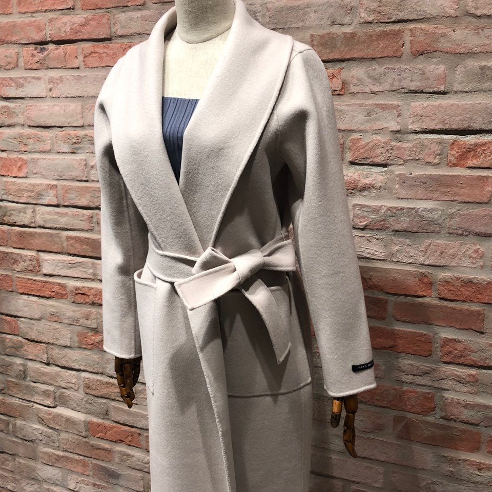 CLEF Hand Made coat - IVORY