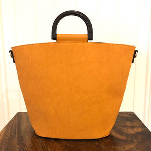 Yellow Hand Bag - strap