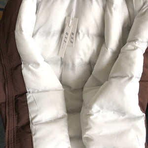 Hoodie coat with padding inside