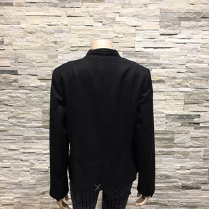 Black V neck jacket