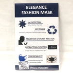 Fashion washable mask