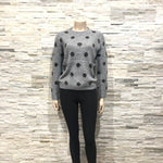 Dot knit top