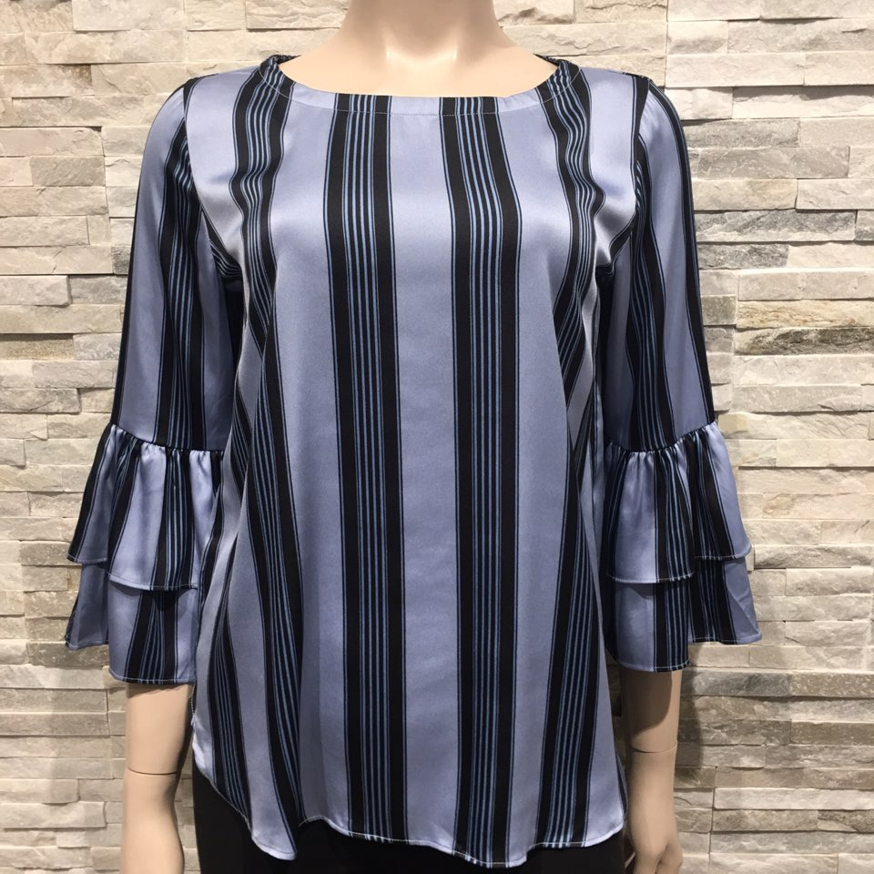 Blue stripe Blouse US brand