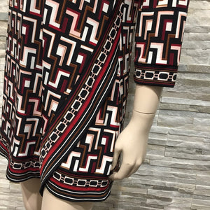 Pattern Printed Dress