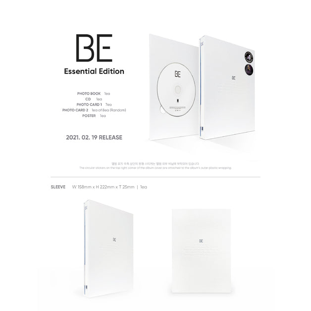 BTS - BE Essential