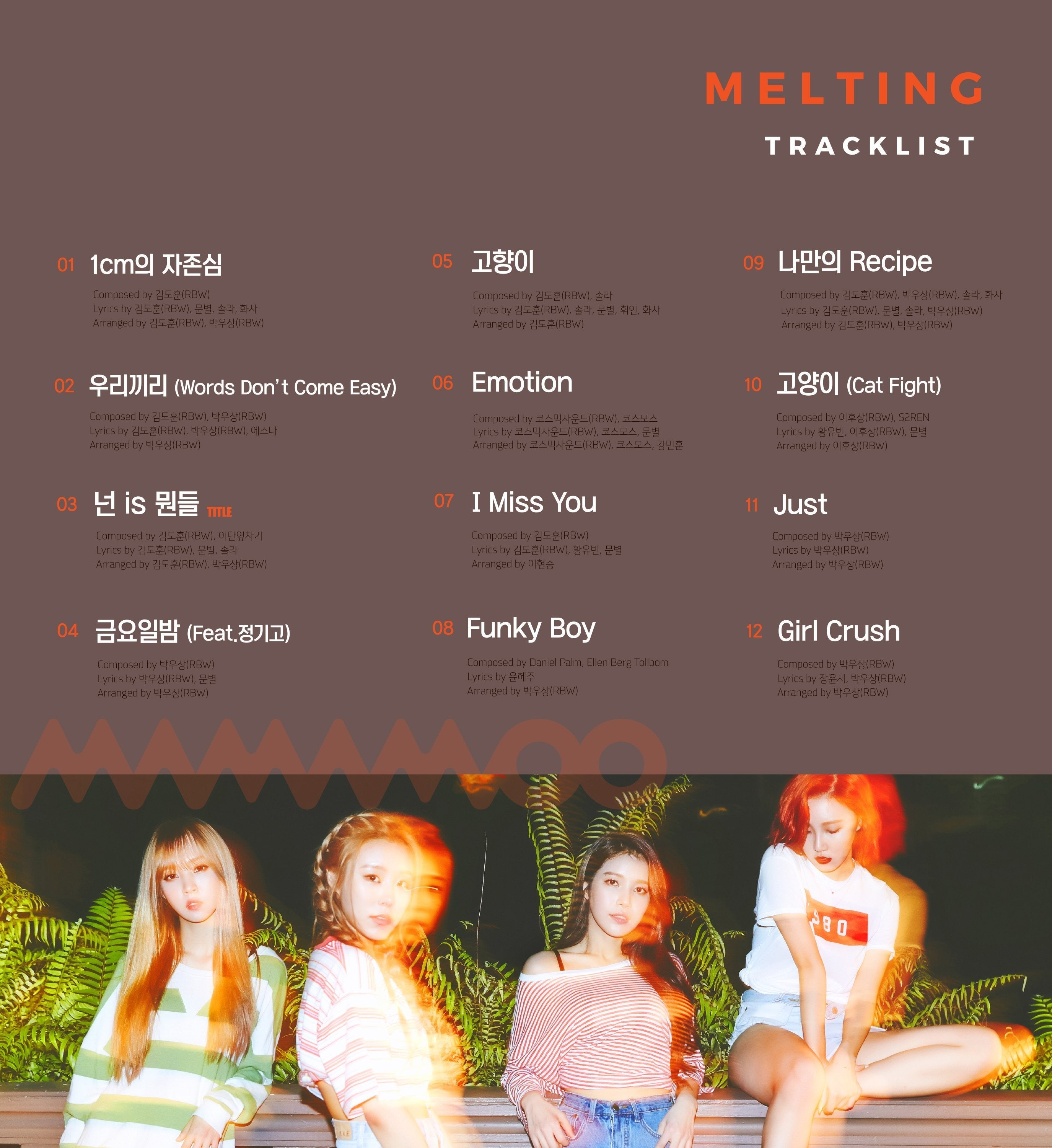 Mamamoo Album Vol. 1 - Melting