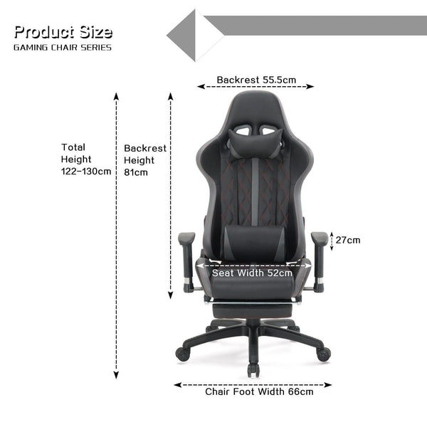 Foot Rest Gaming Chair  davione-jones.myshopify.com