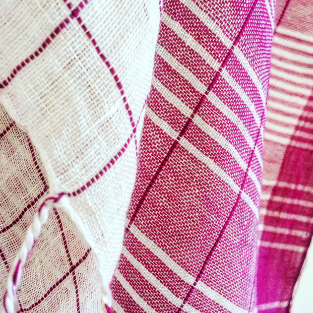 Hand Loomed Linen Checks