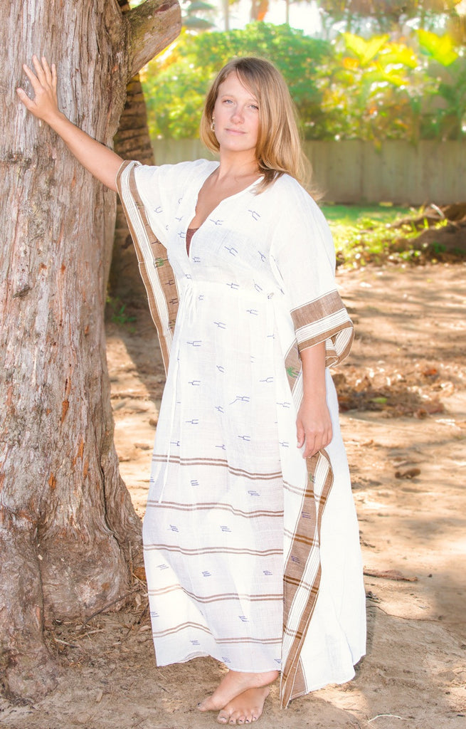 Khadi Kaftan | Earth + Water