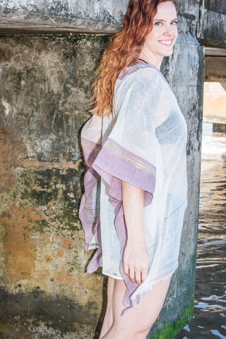 Khadi Kaftan | Indian Dusk