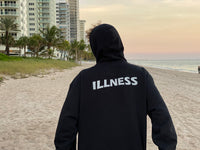 Box of Illness | Champion Black Hoodie