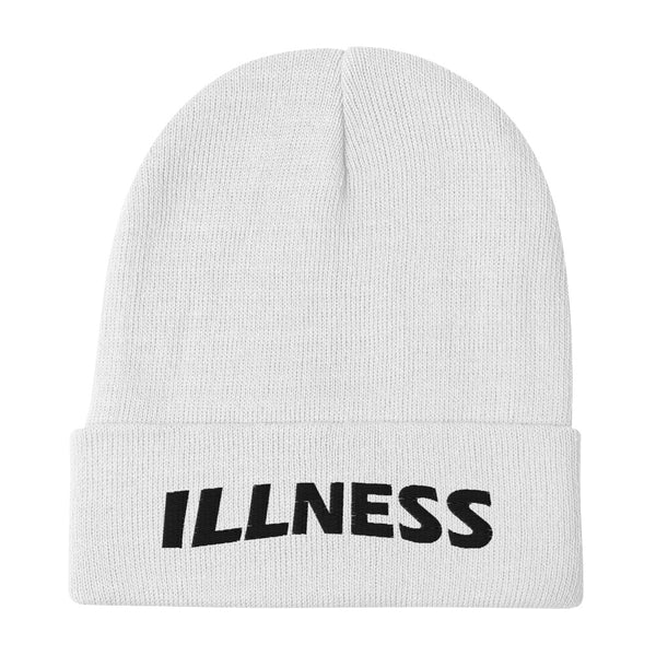 Illness Inverted Embroidered Beanie