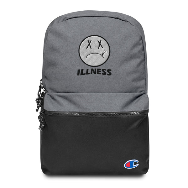 Illness Embroidered Champion Backpack