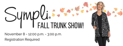 Come to a Sympli Trunk Show At WIGG
