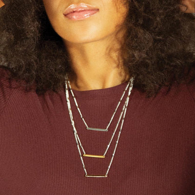 Anne Marie Chagnon Garcia Necklace in Trio