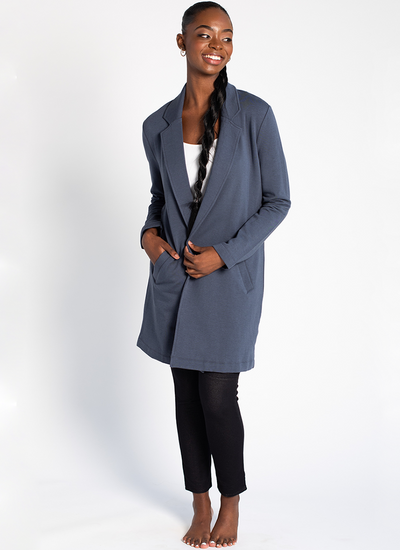 Terrera Meghan Blazer in anchor blue