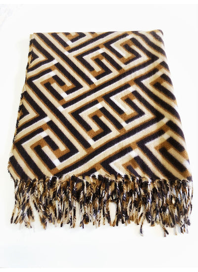 Briad Scarf in brown