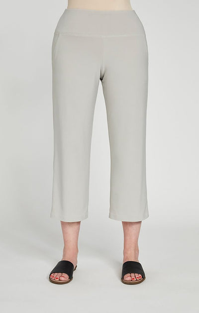 Sympli Straight Leg Crop in sand