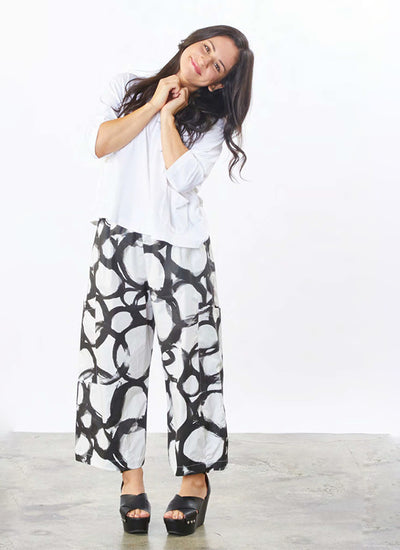 Bryn Walker Pasha Pant in Anelli Cotton Print