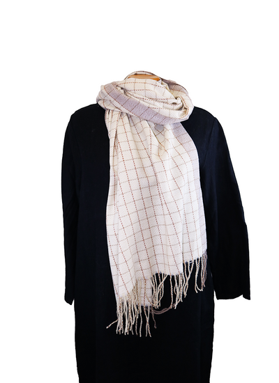 Catherine Lillywhite Small Check Scarf