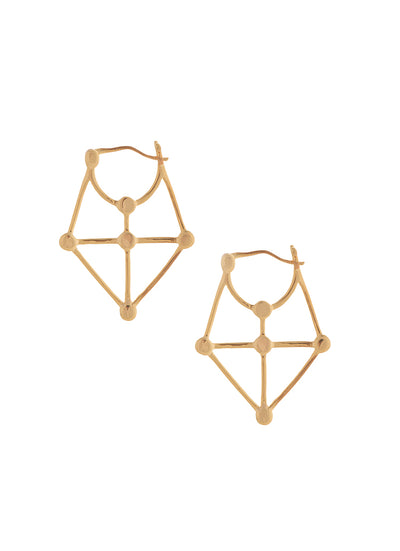 Sarah Mulder Carice Earrings in gold