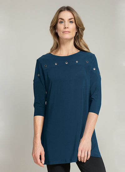 Sympli Halo Border Tunic