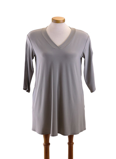 Sympli shift tunic taupe