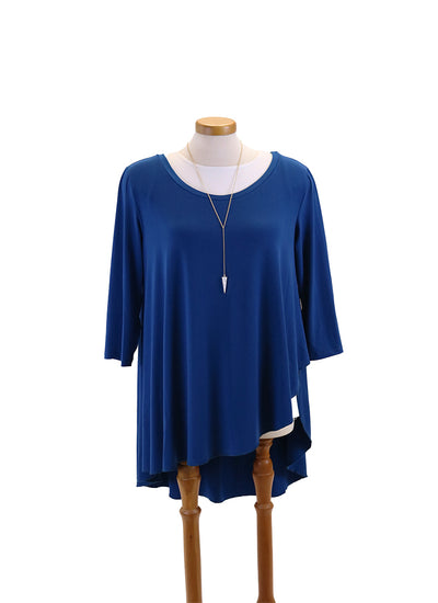 Code Vitesse Santa Monica Tunic in Blue
