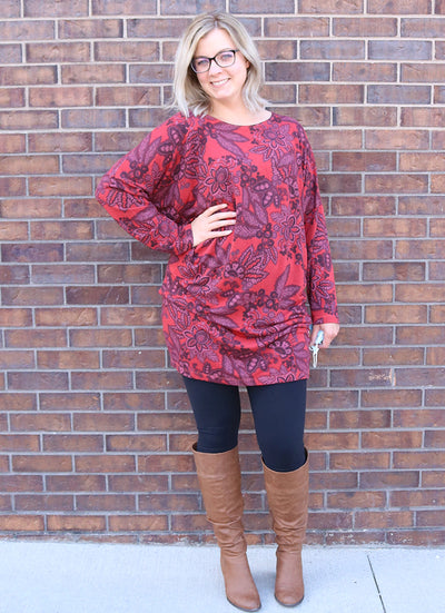 Bryn Walker Alana Tunic in Holly