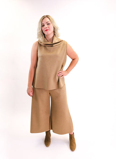 Bryn Walker Etta Tank in Camel