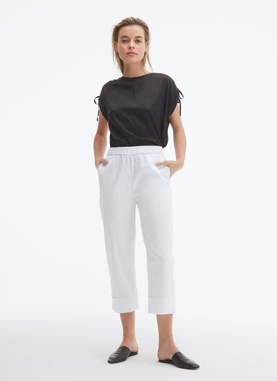 UCHUU Dress Pant in milk