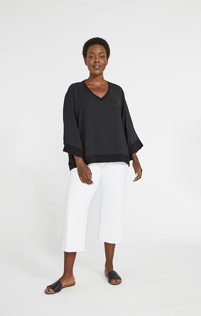 Sympli Whisper Double Layered Top