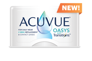 Acuvue Oasys with Transitions (6 pack), 2-week disposable
