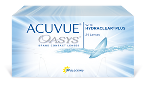 Acuvue Oasys  (2-week replacement, 24 Lens Pack)