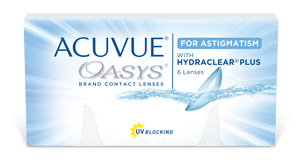 Acuvue Oasys for Astigmatism (6 lens pack, 2-week replacement)