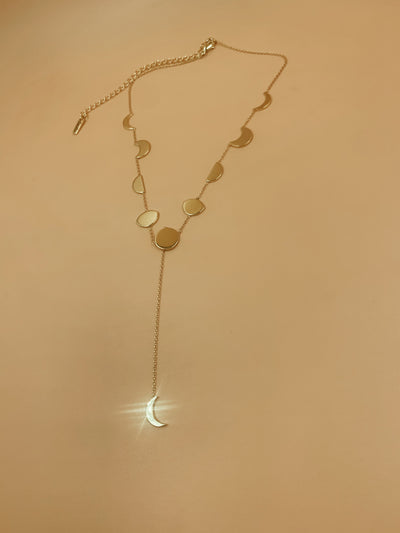 Phases Choker In Brass