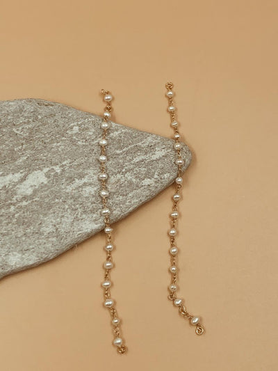 Lou Pearl Chain Extender | 18kt Solid Gold