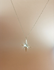 Star Pendant Necklace Duet