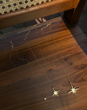 Big Star Pendant Necklace