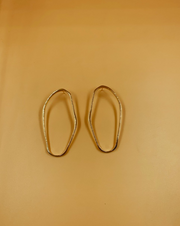 Modernist Abstract Oblong Hoops