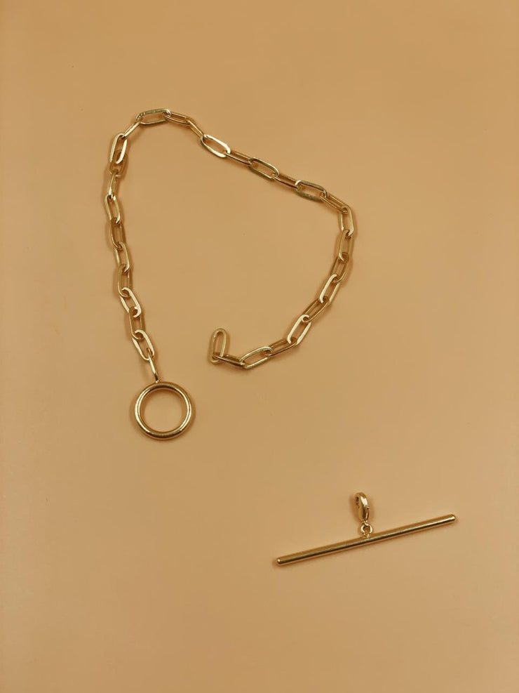 Kaori Toggle Anklet With and Without Charm