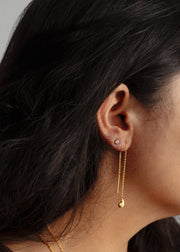 Paisley Threader Earrings