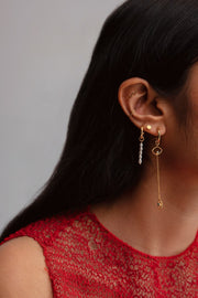 Simple Ear Cuff | 18kt Solid Gold