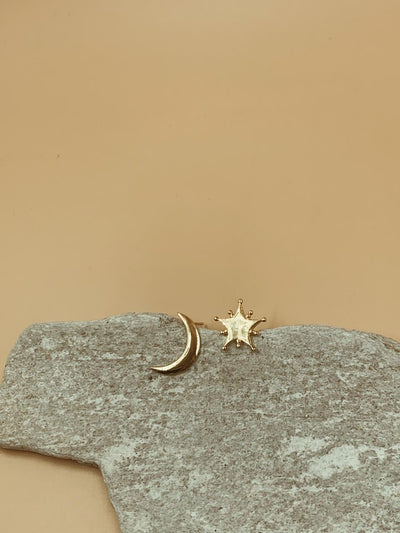 Mama Crescent and Starlight Studs