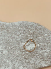 Odxel Opal Chain Ring