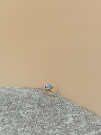 Odxel Opal Nose Pin | 18kt Solid Gold