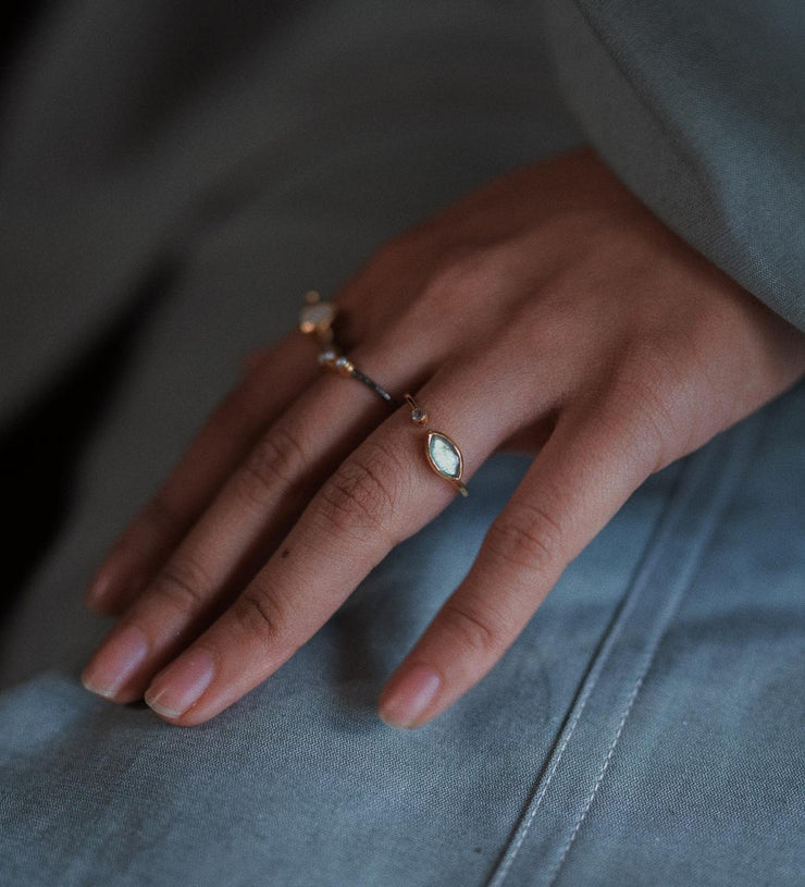 Diva Seed Pearl Ring